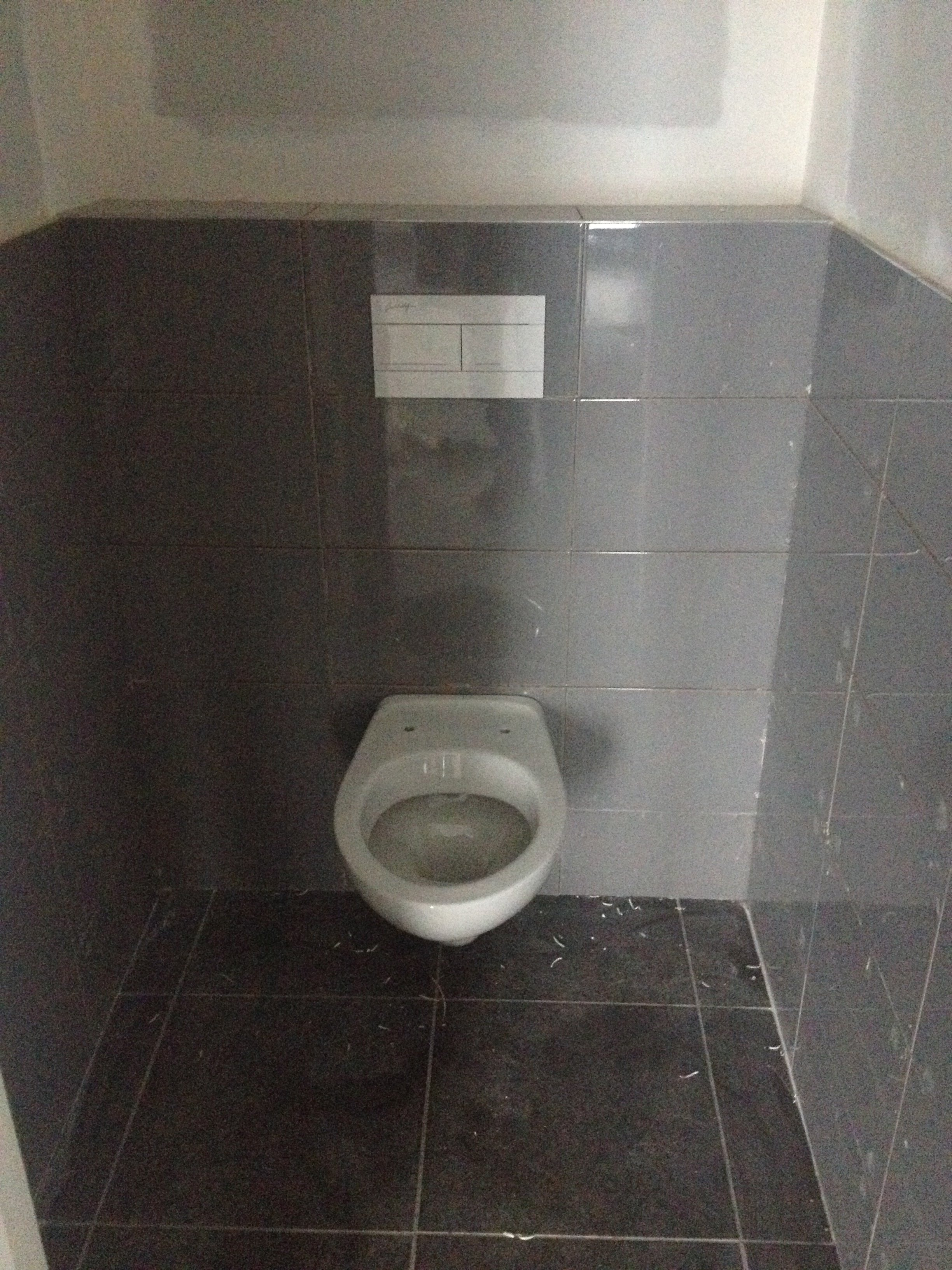 Chezalexetnico fa ence for Carrelage wc gris